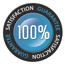 100 satisfaction guarantee Home