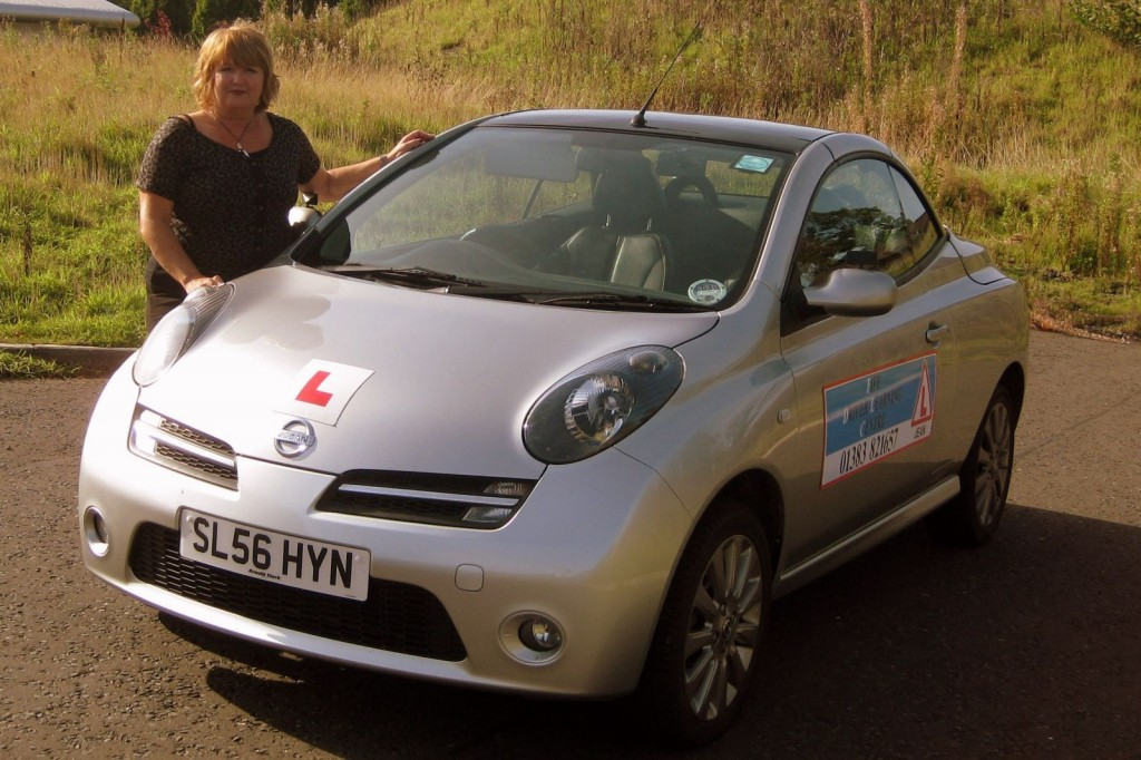 cms jean driving instructor 1024x682 DRIVING SCHOOL DUNFERMLINE